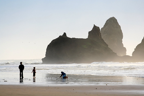 kid-friendly cannon beach