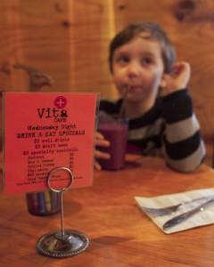 Cafe Vita, a kid-friendly Portland restaurants.