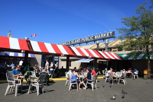 Granville Island Public Market with kids