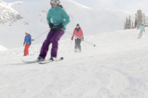 Blackcomb skiiers
