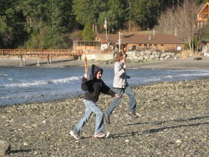orcas island with kids