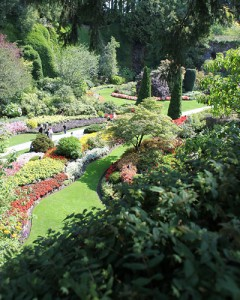 Butchart Gardens: A fun thing to do with kids in Victoria