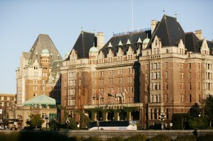 Empress Hotel: a nice place for a spring break in BC