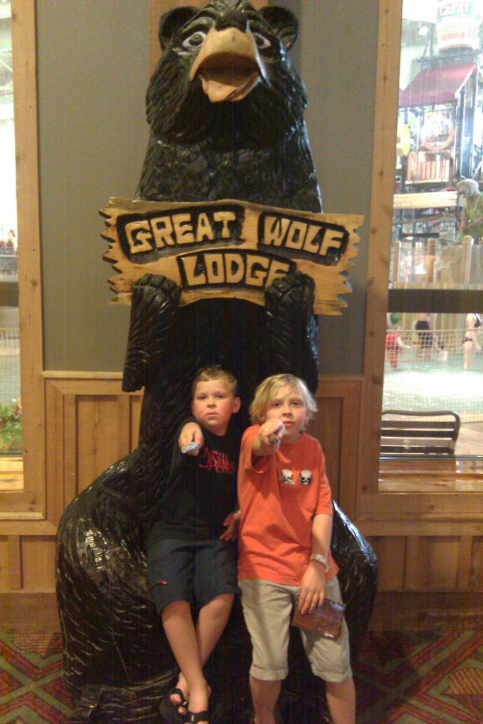 Great Wolf Lodge in Grand Mound with Kids