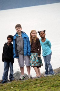 Kids at Harrison Hot Springs BC