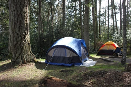camping with kids in washington state