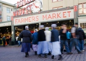 Pike Place Market: A fun thing to do in Seattle with kids