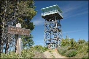 fire lookout in oregon