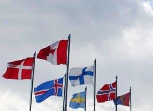European Flags in Washington State