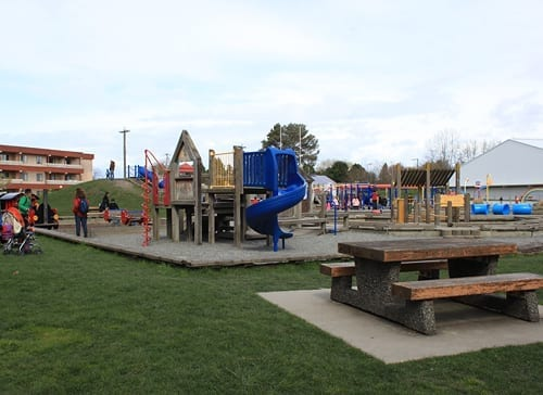 Playground at Steveston Community Centre