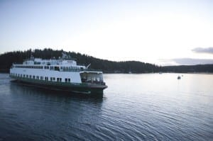 washington state ferry: how to get to san juan island