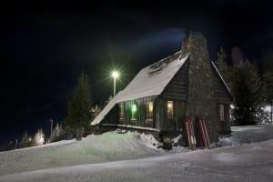Mt Hood at Night