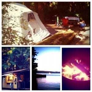 Camping with kids in Washington, Oregon and BC