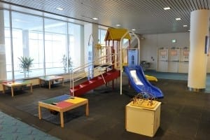 Portland Airport Play Area a fun thing for kids to do