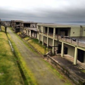 Fort Casey batteries and bunkers fun for kids