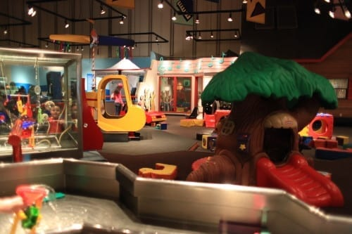 Pacific Science Center Toddler Area: A fun thing to do with kids