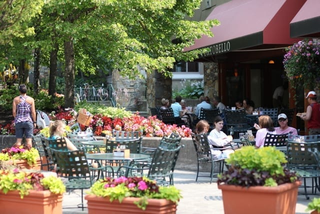 Portobello, a kid-friendly Blackcomb restaurant