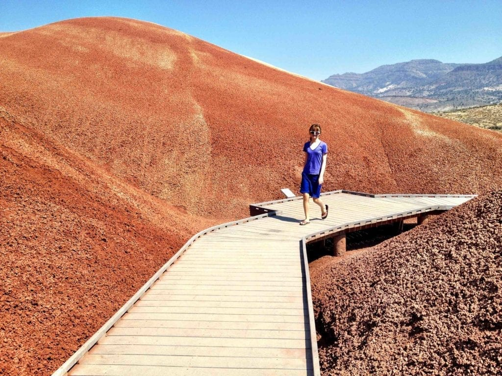 Painted Hills, Oregon with Kids