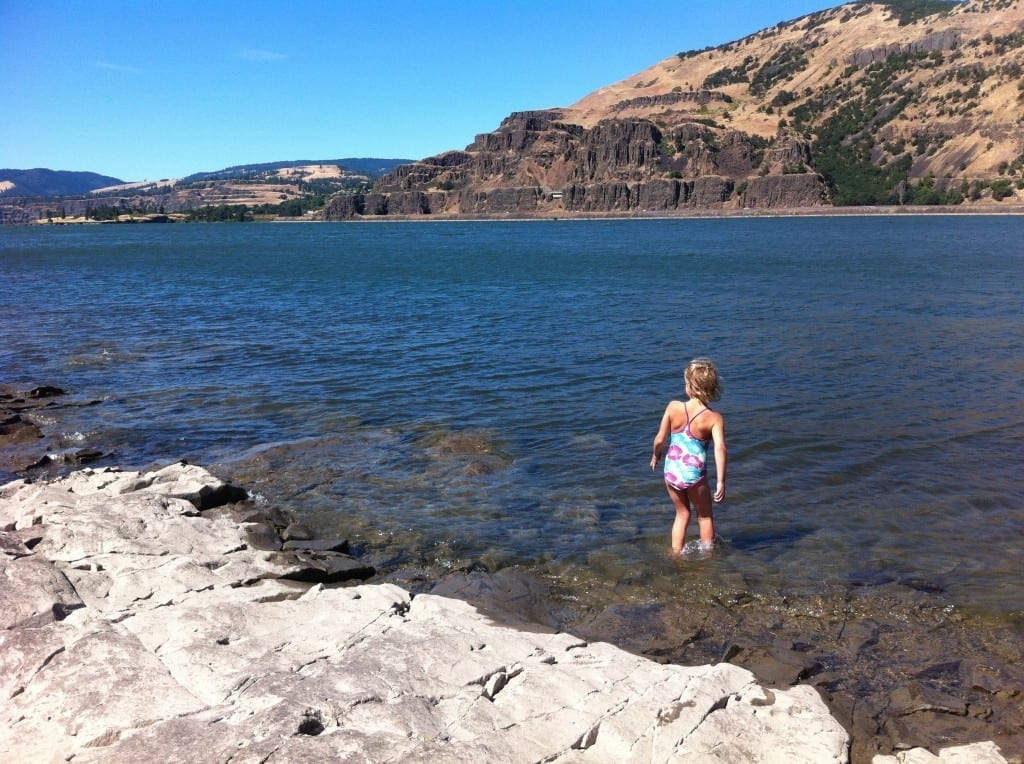 Columbia River Gorge Camping with Kids