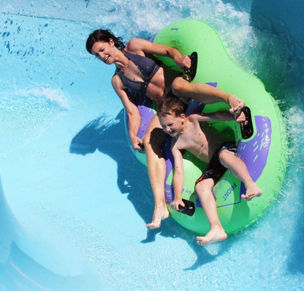 Blaster Ride: Slidewaters Waterpark in Central Washington