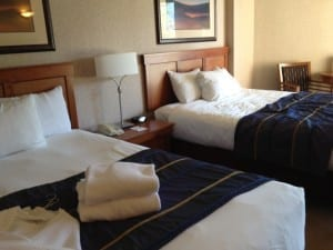 Family-friendly rooms at Harrison Hot Springs