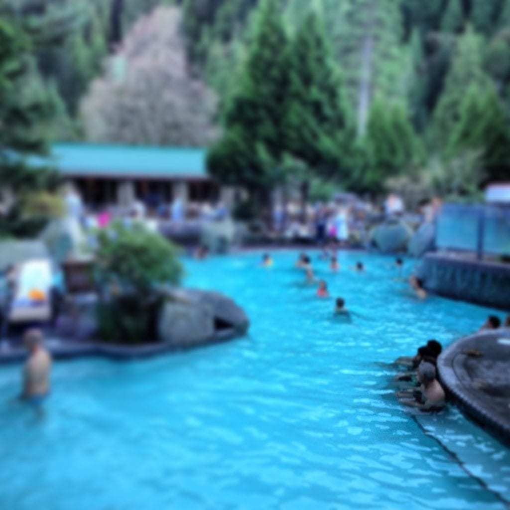 Northwest hot springs with kids