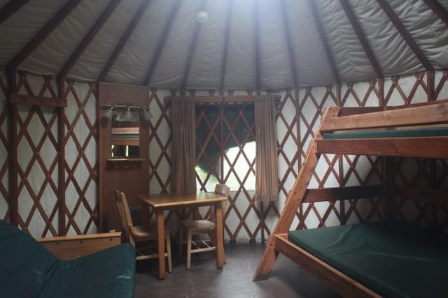 An Oregon Yurt