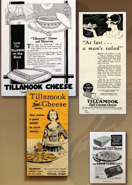 Tillamook Factory Signs
