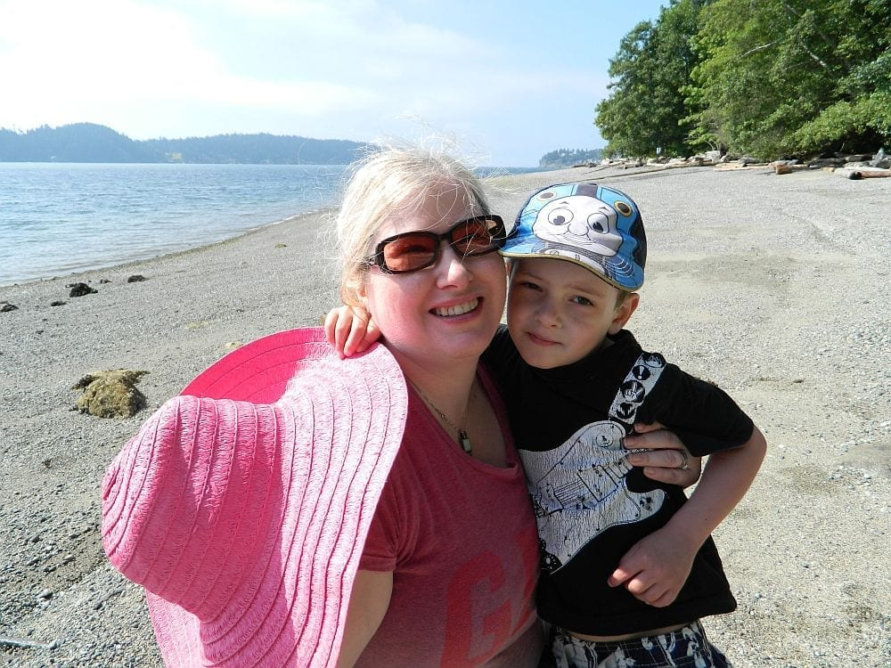 Beach near Gibsons: Kid-friendly beach on Sunshine Coast